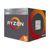 AMD Ryzen 5 2400G 3.6-3.9 Ghz 4 Core 6MB Cache AM4 Socket Processor with Vega 11 Graphics r