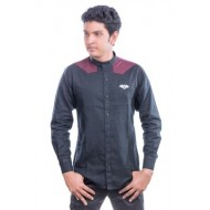 Lavelux Cotton Casual Long Sleeve Shirt