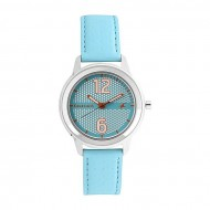 Fastrack Fastrack 6169SL02 - Cyan Leather Analog Watch for Women -