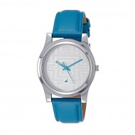 Fastrack Fastrack 6046SL04 Leather Analog Watch For Women - Blue