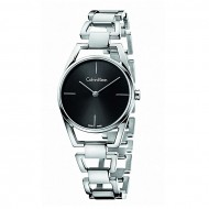 Calvin Klein Calvin Klein K7L23141 Black Dial Stainless Steel Watch for Women