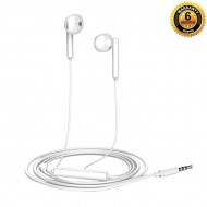 AM-115 - Plastic Body Half in Earphone - White (T)
