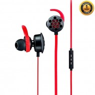 Isurus Pro Gaming Headset - Black & Red (T)