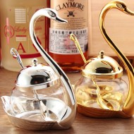 Swan Design Sugar Bowl(1 Pc)