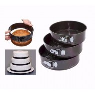 Round Shaped Cake Pan Set (3 Pcs) IN BANGLADESH