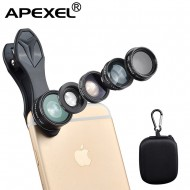 Apexel 5 in 1 APL-DG5H Mobile Camera Phone Lens