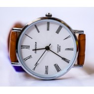 Sunstar Brown Artificial Leather Analog Watch For Women