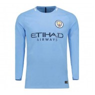 2017-18 Manchester City Home Club Jersey - 356