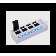 4-Port USB 2.0 HUB with Individual Power Switches