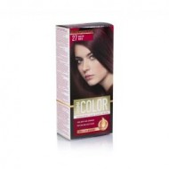 Aroma Permanent Hair Color Cream - 27 Deep Red - 45ml