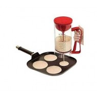 Manual Pans Cakes Machine and Dispensers- Red