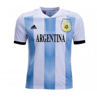 Kids Argentina Short-Sleeve Home Jersey (copy)