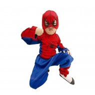 Spiderman Dress For Kids Red And Blue