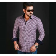 Contrast Design Full Sleeve Casual Shirt – ST11