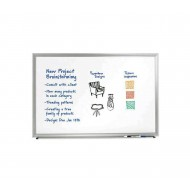 Aluminum framed white board set