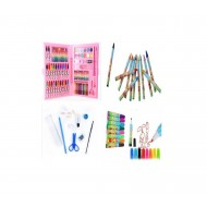 86 Piece Paintings Drawing & Coloring Set