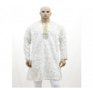 100% cotton Double Collar Panjabivery comfortable to wear. size-42