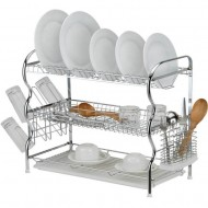 3 LAYER DISH DRAINER