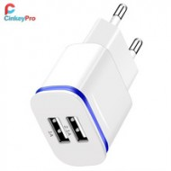CinkeyPro 2-Ports USB Charger for XiaoMi iPhone 7 a32816097115
