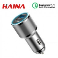 Car Charger Quick Charge 3.0 Dual USB 2 Port Aluminum Phone(a32889853427)