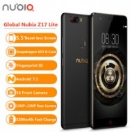 Global Nubia Z17 Lite 5.5Inch Bezel-less Smartphone a32894204726