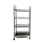Daily Goods Stainless Steel 4 Layer Rack - Grey