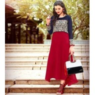 Indian Designer High Quality Georgette Embroidery Kurtis Replica BBE D.NO-305