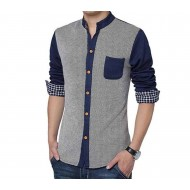 Indian Flower Slave Casual Shirt