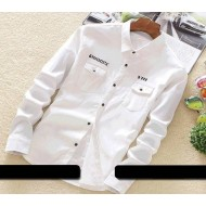 Indian flower slice casual shirt