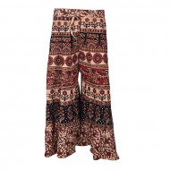 Xiros Collection Multicolor Cotton Unstitched Palazzo for Women