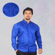 American Eagle Blue Solid Casual Shirt Product Code: RF-822