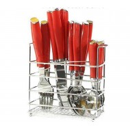 24spoon spoon set - red
