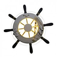 Home Light LED Wall Lamp - White and Warm
