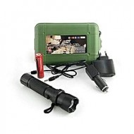As Seen On Brightest LED Rechargeable Torch 800M - Black