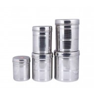 5 Pieces Stainless Steel Container Set